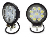 Proiector LED auto offroad 27W 10-30V pentru ATV, 4x4, SUV, Spot Beam 30°, Universal