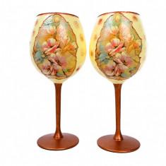 Set cadou 2 pahare pentru vin rosu, El si ea, cadouri nunti, marturii