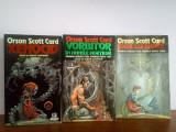 Orson Scott Card - trilogia Saga lui Ender (SF)  v. foto!