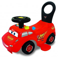 Masinuta Kiddieland 3 in 1 motorizata - Disney Pixar Fulger McQueen Ride On Go-Go-Racer