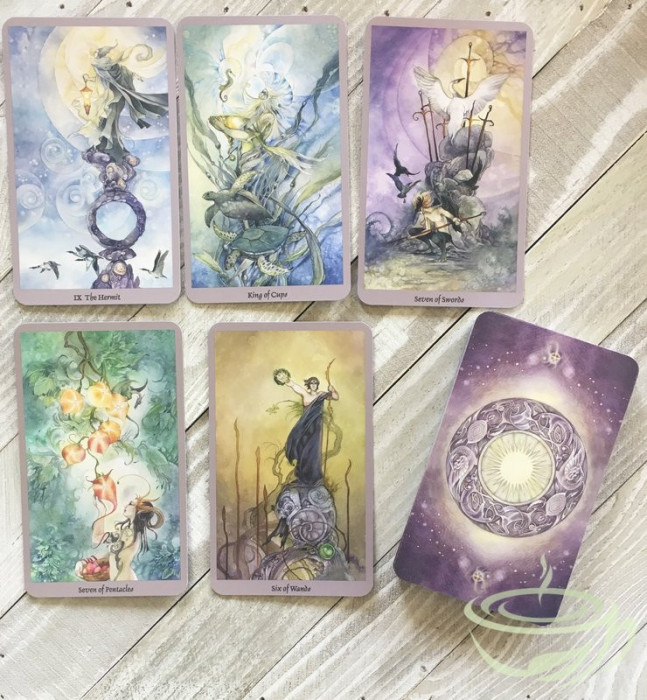 Carti tarot - Shaboioscapes Tarot - 78 carduri tarot - limba engleza