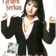 Caseta Carmen Serban - Sange DE Roman Sa Ai, originala, holograma