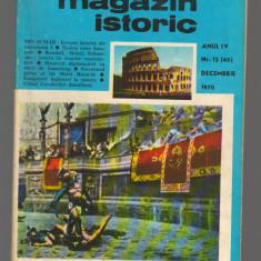 C8599 MAGAZIN ISTORIC - DECEMBRIE 1970