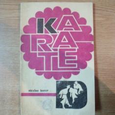 KARATE de NICOLAE BUCUR , 1972