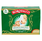 Cumpara ieftin Sapun solid parfumat Borotalco Vintage 2 buc x 100g