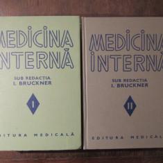 MEDICINA  INTERNA -I.  BRUCKNER ( 2 VOL )