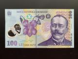 100 Lei 2018 (2019) Romania, UNC stema noua (1)