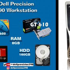 Dell Precision 390 Core2Quad Q6600+ GigaByte GT610 (2gb) + 8gb DDR2, Intel Core 2 Quad