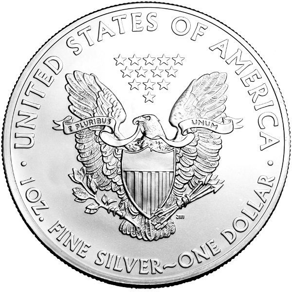 Moneda argint lingou,Vulturul American
