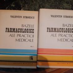 Bazele farmacologice ale practicii medicale – Valentin Stroescu, 2 volume