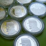 10 buc 50 Bani 2019 PROOF , regele Ferdinand I intregitorul, Lot Romania