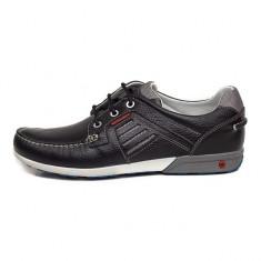 Pantofi Bărbați casual Piele Grisport Adelite, 39 - 43, Negru