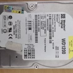 Hdd PC Western Digital 120 GB Ide #61371, 100-199 GB