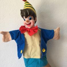 Marioneta teatru de papusi papusa manuala, Pinocchio, Buratino