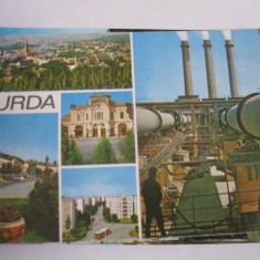 Carte postala - Turda (colaj)