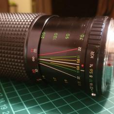 Obiectiv 70-210mm f4-5.6 montura pentax (optional sony e)