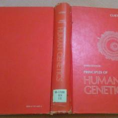Principles of Human Genetics. Text in limba engleza - Curt Stern, Alta editura, 1973