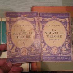 LA NOUVELLE HELOISE-J.J ROUSSEAU