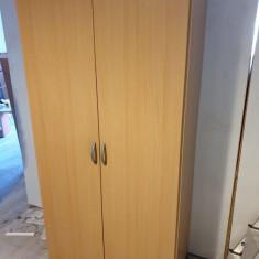 Dulap dormitor pentru haine cu 2 usi din pal melaminat