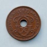 DANEMARCA  -  2 Øre 1939  -  Christian X
