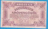 (2) BANCNOTA UNGARIA - 100.000 ADOPENGO 1946 (28 MAI 1946)