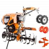 Cumpara ieftin Motocultor Ruris 1001KSD, 10 CP, diesel, 3 viteze + accesorii