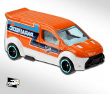 Hot wheels ford transit connect hot wheels 8/10 hw rescue 2020, 1:64