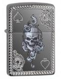 Cumpara ieftin Brichetă Zippo 29666 Ace of Spades-Skull