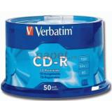 Mediu optic Verbatim Blank CD-R Datalife 52X 700MB 50 bucati