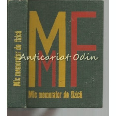 Mic Memorator De Fizica - Ioan-Lovit Popescu, Anatolie Hristev