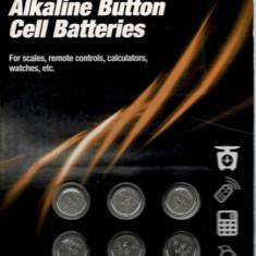 Set 6 baterii cu buton din zinc-aer Tronic (a13 / PR 48 1.4v)