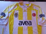 Tricou ADIDAS fotbal - FENERBAHCE ISTANBUL(aniversare 100 de ani-nr. 3 R.Carlos)
