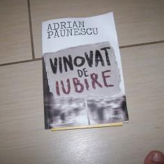 VINOVAT DE IUBIRE ADRIAN PAUNESCU