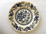 Farfurie decorativa Blue Onion Made in England Genuine Handengravings