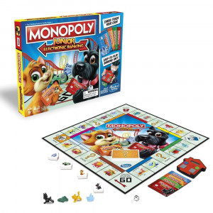Joc de societate Monopoly Junior Electronic Banking varianta in romana