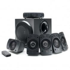 Sistem audio Logitech 5.1, putere RMS 165 W