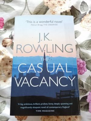 Carte engleza Casual Vacancy J. K. Rowling foto