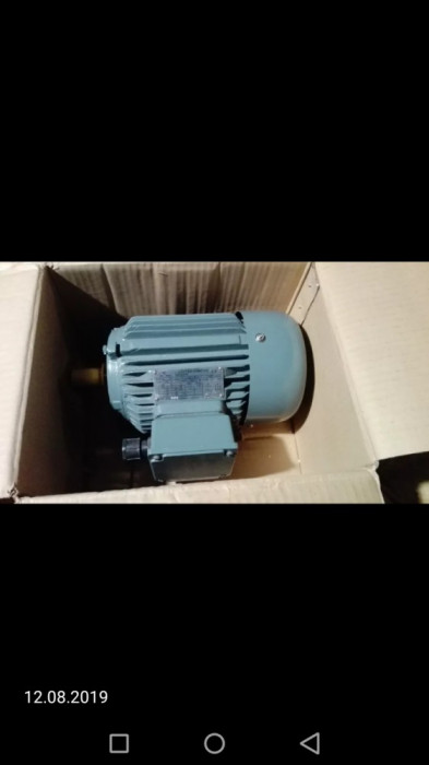 Motor 0,55 KW / 1390 RPM