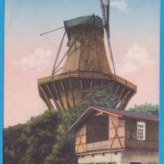 (G6) CARTE POSTALA GERMANIA - POTSDAM, MOARA DE VANT, CIRCULATA - 1925