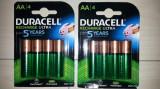 Set 4 buc Acumulatori AA R6 2500 mah DURACELL (noi)