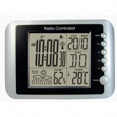Statie meteo Koch Meteo Easy 12407, cronometru, calendar