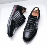 Pantofi barbati Piele Hudori negri -rl