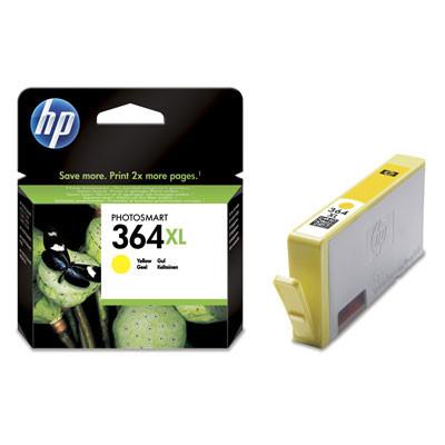 Cartus original HP 364XL Yellow CB325EE 6ml foto