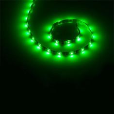 Banda LED 30 diode 5050 smd, 1 m, 600 mA, 12 V, culoare verde