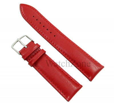 Curea ceas rosie 20mm 22mm 24mm Matteo Ferari WZ1611 foto