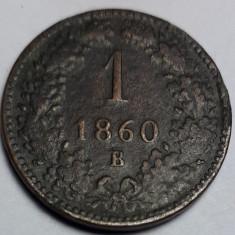 1 kreuzer 1860 B