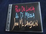 Paco de Lucia/Al Di Meola/John McLaughlin - The Guitar Trio_cd,album_Verve,1996