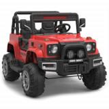 Masinuta Electrica Jeep Defpower 4x4 cu 2 Locuri, Telecomanda si Functie MP3 Rosu