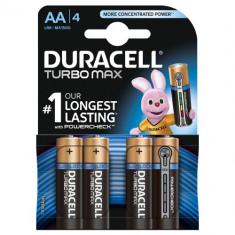 Set 4 Baterii Tip AA Turbo Max Duralock