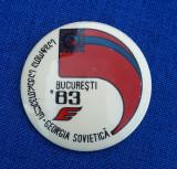Insigna Aviatie - colaborare Romania - Georgia - 1983